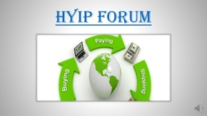 TOP 100 HYIP Forums